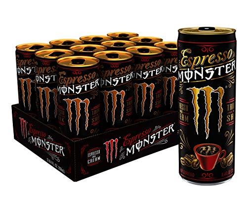 Espresso Monster Cream Energy Drink