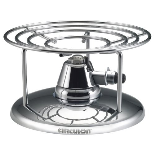 Circulon Infinite Tabletop Cradle and Burner Set (Covered Buffet Casserole)