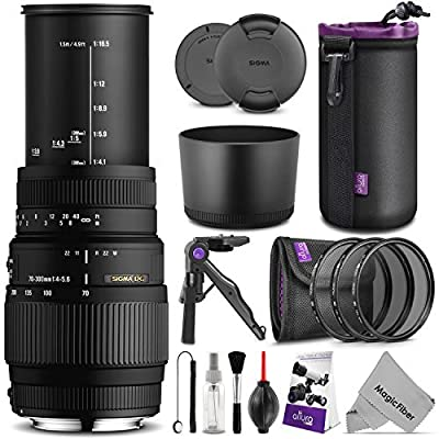 Sigma Lenses / 70-300mm f/4-5.6 DG Macro Nikon