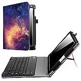 Fintie iPad 9.7 2018 2017 / iPad Air 2 / iPad Air Keyboard Case - Folio Stand Cover with Removable Wireless Bluetooth Keyboard for Apple iPad 6th / 5th Gen, iPad Air 1/2, Galaxy