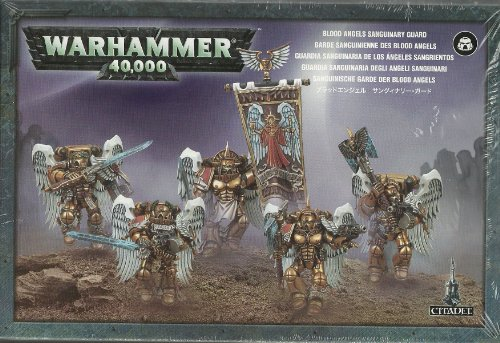 - Warhammer 40K Blood Angels - Sanguinary Guard - Boxed Set