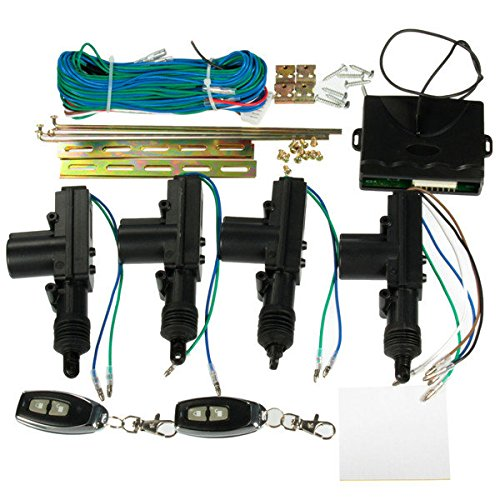 Car 2 or 4 Doors Central Lock Locking Keyless Entry System Kit & Remote Keys - Outlet Valley Central
