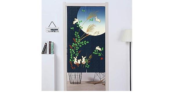 ExcLent 85 X 150 Cm / 33.5 X 59 Cortinas Artísticas Japonesas De Fibra De Poliéster Para Puertas Decoraciones De Cocina: Amazon.es: Industria, empresas y ciencia
