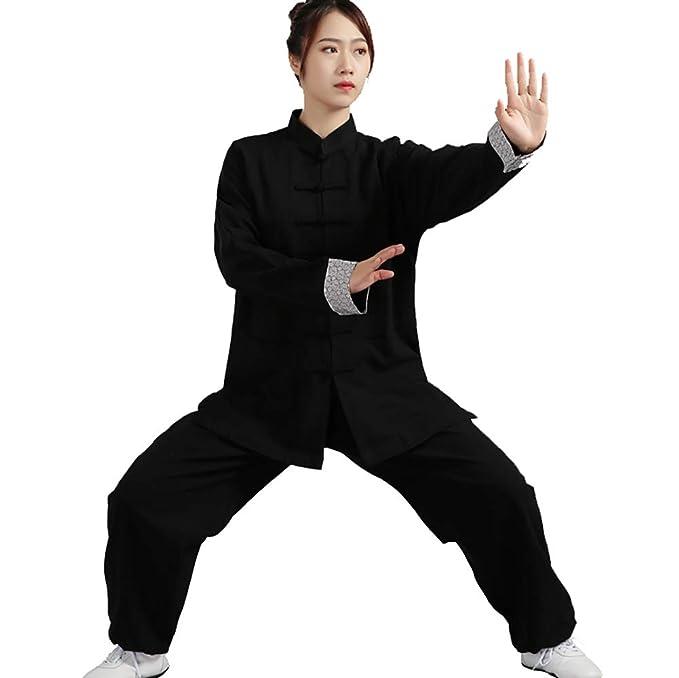 Daoba Clásico Unisexo Trajes Tang Kung fu Artes Marciales ...