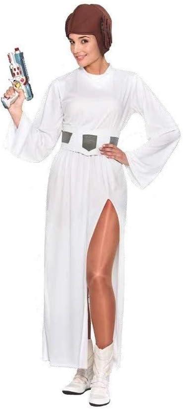 DISBACANAL Disfraz Princesa Leia Star Wars - -, M: Amazon.es ...