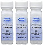 Image of Hyland's Allium Cepa 30X Tablets, Natural Homeopathic Runny Nose, Cold or Hay Fever Relief, 250 Count (Pack of 3)