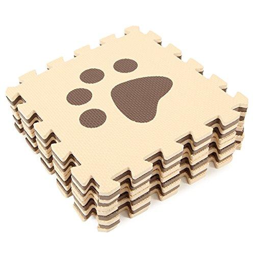 10pcs Eco-friendly Eva Foam Baby Floor Carpets Play Mats Puzzle // 10pcs bebé de espuma eva alfombras del piso ecológico juegan esteras del rompecabezas