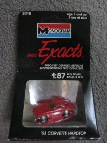 Monogram Mini Exacts 1963 Corvette Hardtop