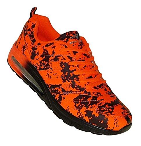 Bootsland Art 467 Neon Luftpolster Turnschuhe Schuhe Sneaker Sportschuhe Neu