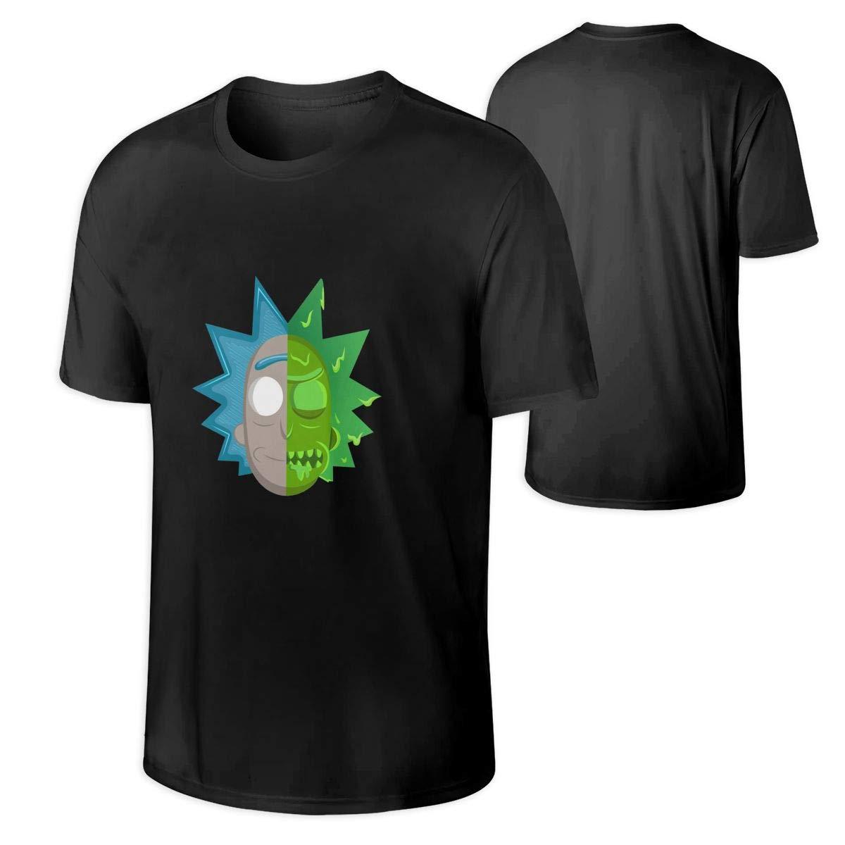 Ruzo0jkghj Rick N Morty Half Toxic Face T Shirt 6557