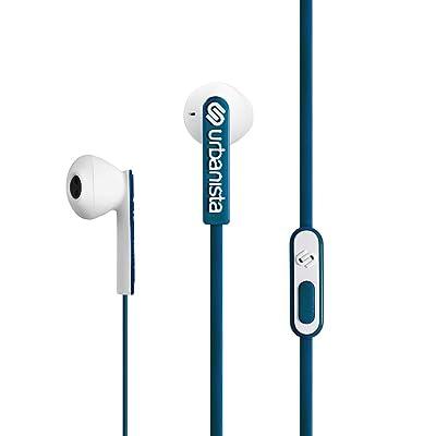 Urbanista San Francisco - Auriculares (Binaurale, Azul, Dentro de oído, Alámbrico, 3.5 mm (1/8), 0.85m)