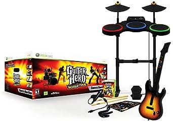 Activision Guitar Hero: World Tour (Band Kit), Xbox 360 - Juego ...