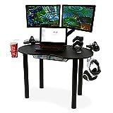 Atlantic-82008075-Computer-Gaming-Desk-Black