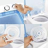 SUPER DEAL 2IN1 Mini Compact Twin Tub Washing