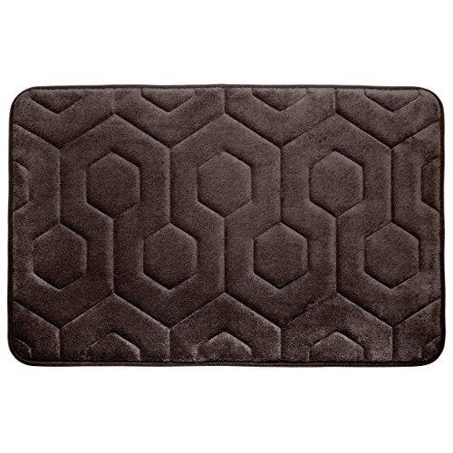 Bounce Comfort Hexagon Memory Foam Bath  - Espresso Bath Shopping Results