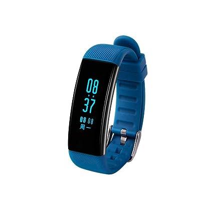 Reloj Inteligente con Análisis de Sueño Ritmo Cardíaco Presión Arterial impermeable Pulsera de Actividad Monitor de
