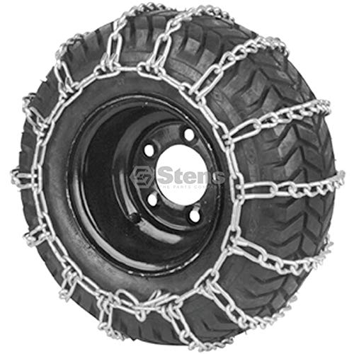 Cutter King # 180-104 2 Link Tire Chain for 4.10x3.50-6 for 12x3.50-6 for 12.25x3.50-6 by Cutter King