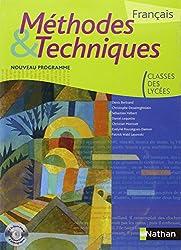 Français - Méthodes & Techniques