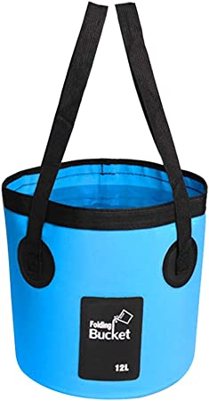 12L 20L Water Carrier Container Foldable Collapsible Bucket for Camping Fishing