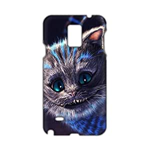 Angl 3D Case Cover Alice's Adventures in Wonderland Cute Cat Phone Case for Samsung Galaxy Note4