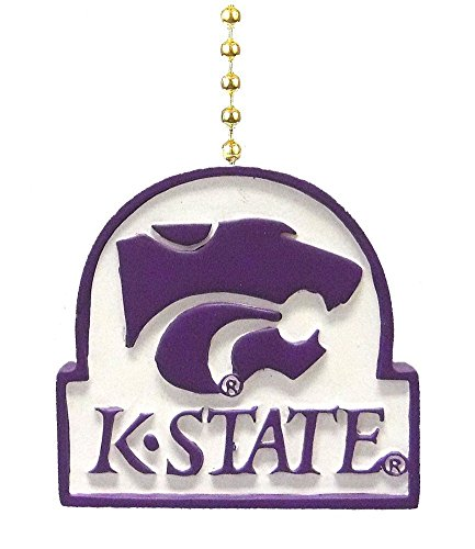 School Panthers Accessories - Kansas State University Wildcats Ceiling Fan Pull chain
