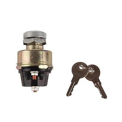 key For Massey Ferguson 4 position Universal Tractor Ignition Switch Starter