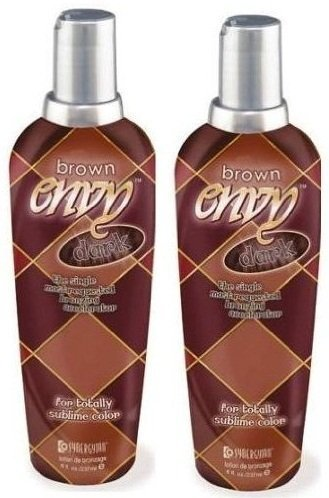 2 X Synergy Tan Brown Envy Dark Sunbed Cream Lotion by Synergy Tan