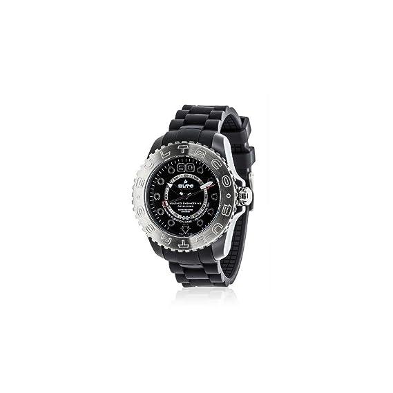 d5c9caede2f1 Bultaco Reloj analogico para Hombre de Cuarzo con Correa en Acero Inoxidable  BLPB45A-CB2  Amazon.es  Relojes