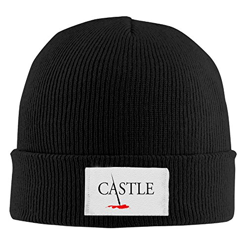 Tv Show Castle Toboggan Hat Hipster Beanie Winter 2016 Woolen Cap CapsBeanies HatsMen Black
