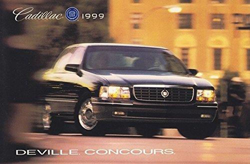 1999 CADILLAC DEVILLE CONCOURS SEDAN VINTAGE COLOR POST CARD - GREAT ORIGINAL POSTCARD - USA (Deville Color)