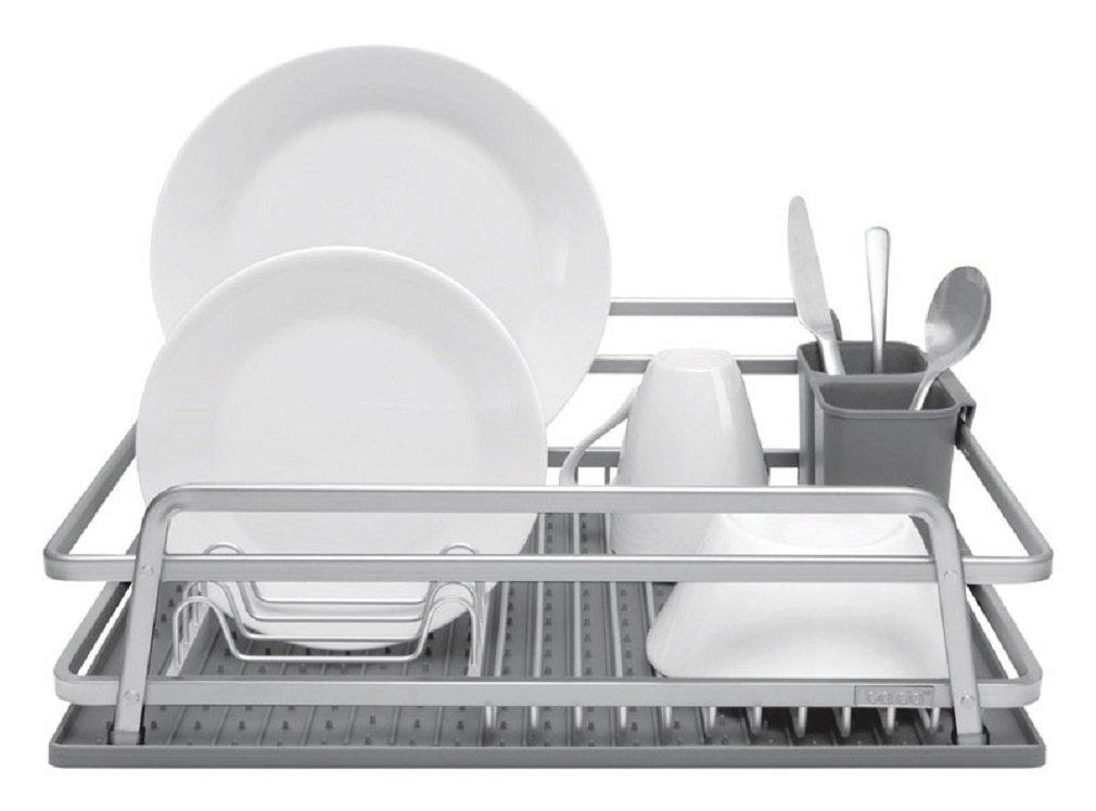 Dark Grey Jascor ta da TDDR100DSDG Dish Rack