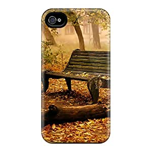 Premium Dried Leaves Back Cover Snap On Case For Iphone 4/4s