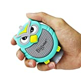 Bluetooth Speaker, Bigwave OWL Design Portable Wireless Mini Speakers with Built-in Mic, Hands-free Speakerphone, Support TF Card, Perfect for Home Car Party and Outdoor Activities (Light Blue)