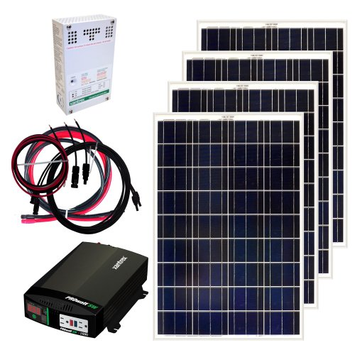 Grape Solar GS-400-KIT 400-Watt Off-Grid Solar Panel Kit (Solar Panel Kits For Homes)