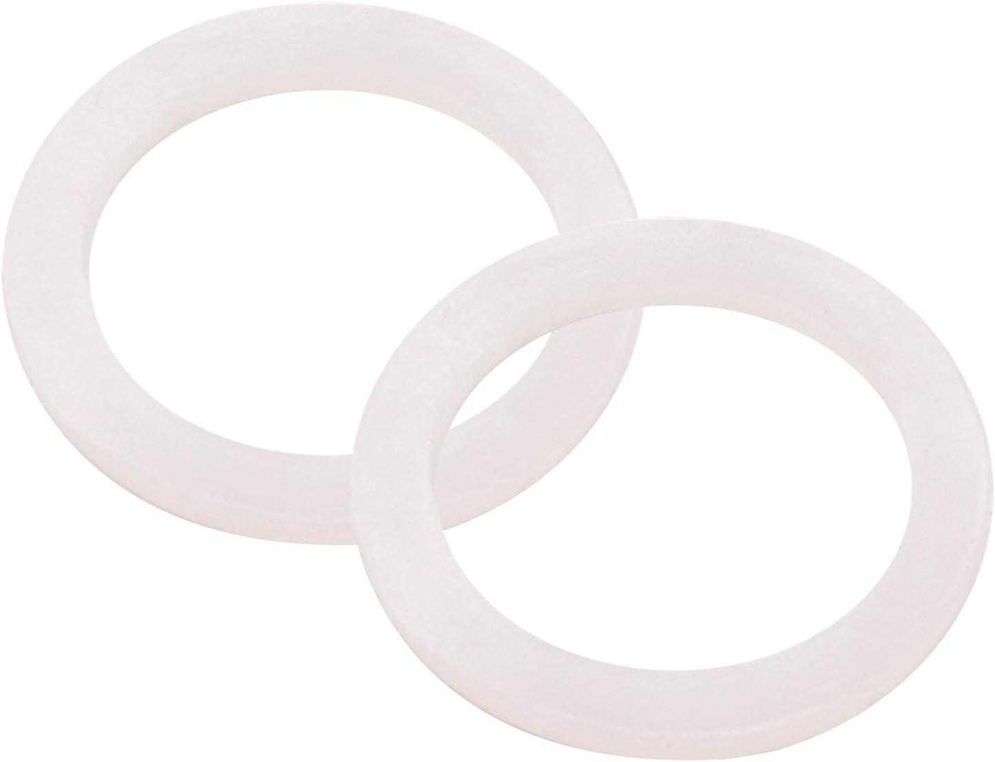 DERNORD Silicone Washer Gasket Sealing O Rings Inner Diameter: 38mm / 1.5