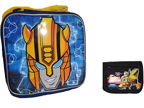Transformers 4 Bumblebee Insulated Lunchbox Lunch - Lunch Transformers Insulated