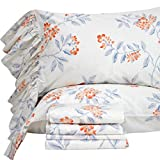 Queen's House French Country Floral Bed Sheet Sets Twin Size-Style V