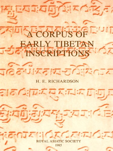 Download A Corpus of Early Tibetan Inscriptions (Royal Asiatic Society Books) Pdf