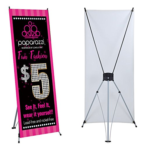 (Paparazzi Banner Stand - 24in x 63in)