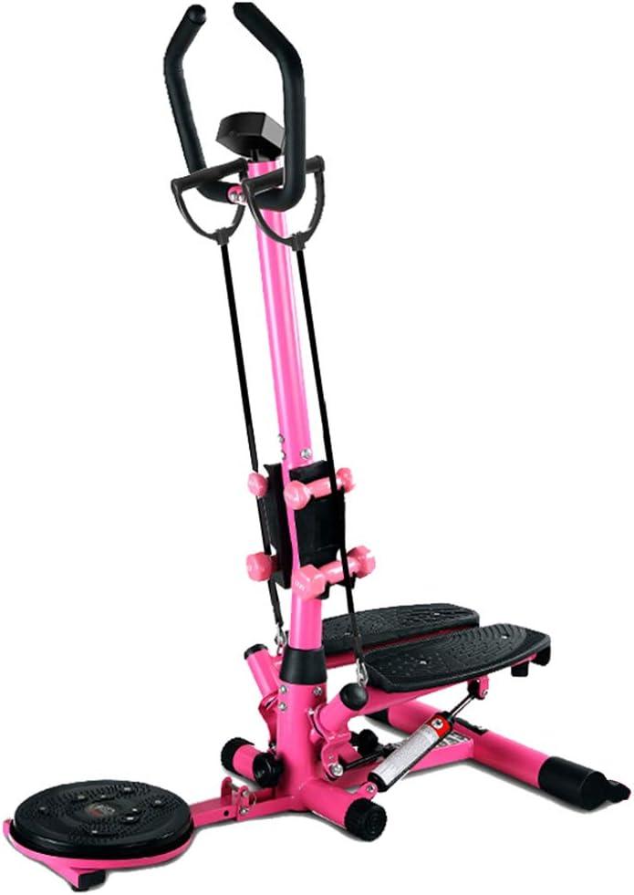 Máquinas de step Equipo de Ejercicios Multifuncional para Adelgazar, máquina de Ejercicios, Equipo de Ejercicios Multifuncional (Color : Pink, Size : 38 * 92 * 120cm): Amazon.es: Hogar