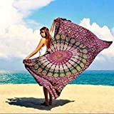 Indian Cotton Mandala Wall Hanging Tapestry Bedspread Bed sheet Bohemian Cover Tapestry