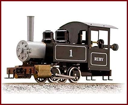 Train Engine For Sale >> Amazon Com Accucraftac77 010 Ruby 1 0 4 0t W O Pressure Gauge Live