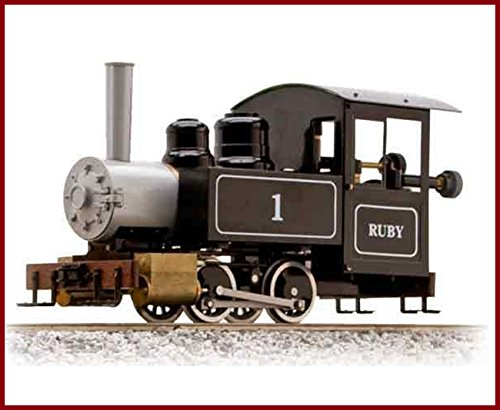 Live Steam Trains - ACCUCRAFTAC77-010 RUBY #1 0-4-0T w/o Pressure Gauge LIVE STEAM RUBY #1 0-4-0T w/o Pressure Gauge LIVE STEAM TRAIN ENGINE