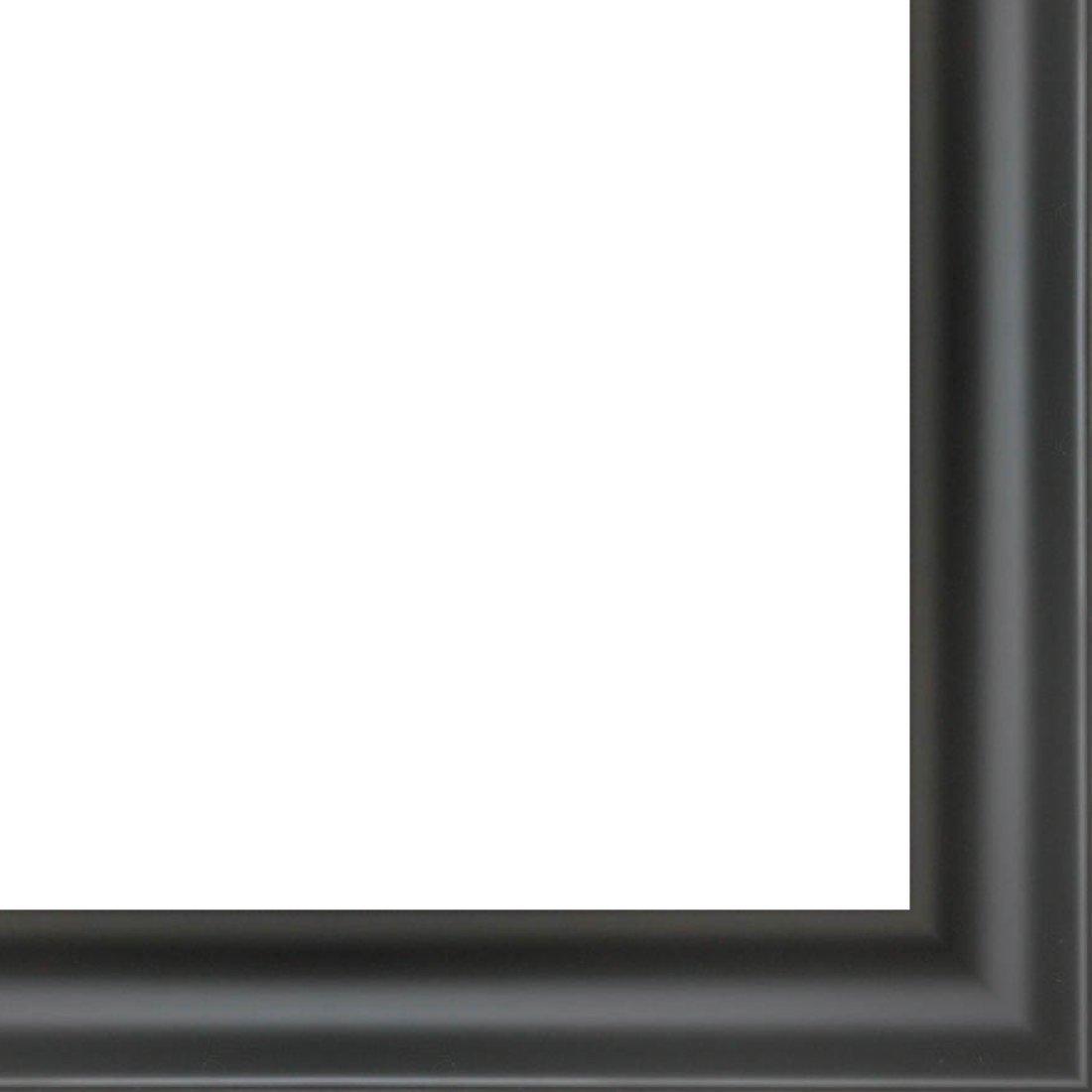 2.125 width Wood 18ft bundle 11//16 rabbet depth Contemporary Black Finish Picture Frame Moulding