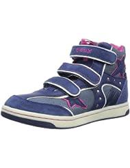 (新低)健乐士儿童高邦平底鞋 蓝 $33.28 Geox Creamy Wedge Sneaker