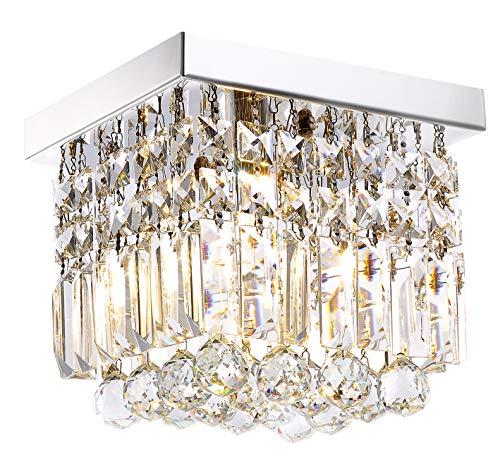 Moooni Hallway Crystal Chandelier 1 - Light W8