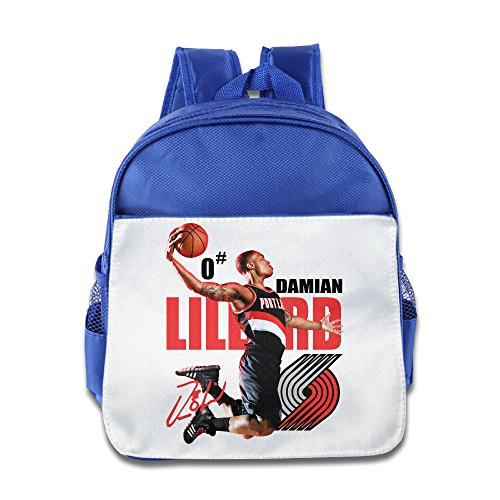 (Ysov DLillard John Wall Child Pre School Schoolbag RoyalBlue)