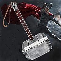 "Marvel Realistic"" MJöLNIR "" 20 cm Metallic Hammer of Odin for Cosplays / Costume Parties"