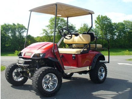 EZGO TXT 1994-01 Golf Cart Jakes Long Travel Lift Kit by Jake's