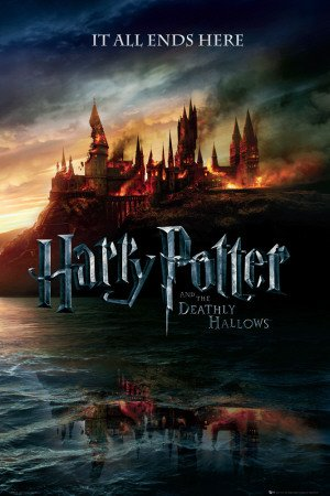 Harry Potter 7 The Deathly Hallows Teaser Maxi Poster 61x91.5cm by Gb Posters GB eye